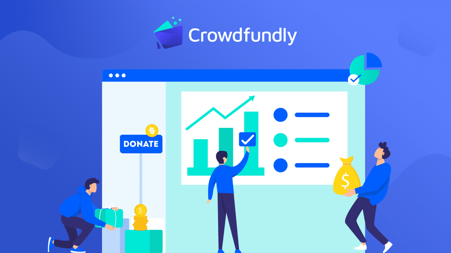 payment methods in Crowdfundly